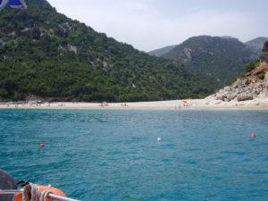 Sandstrand Ostseite Sardinien